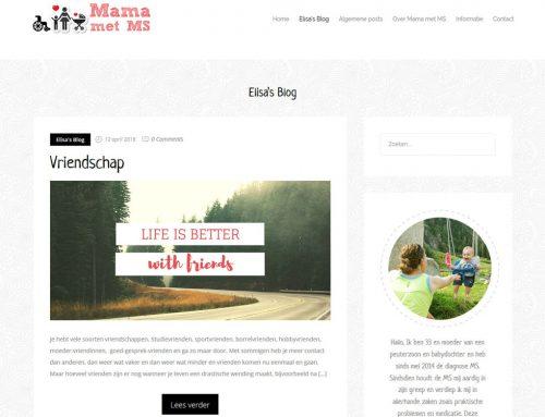 Mama Met MS – blogsite